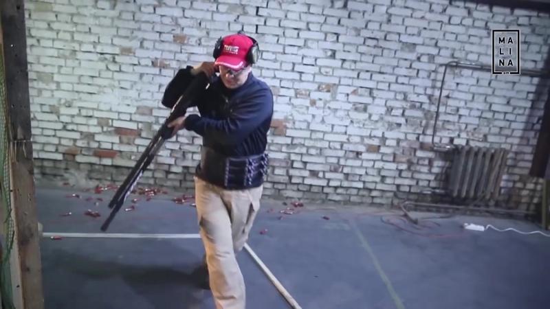 Отработка навыков стрельбы из ружья в замкнутом пространстве