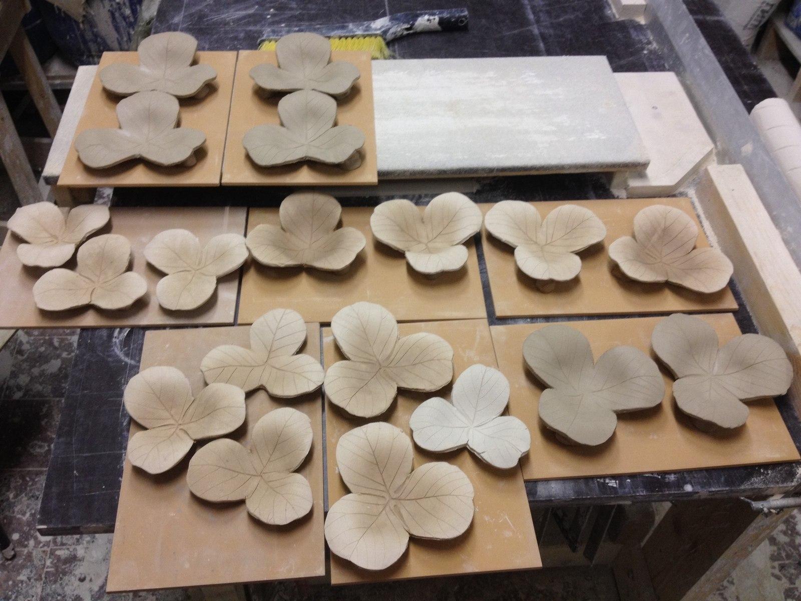 Создание керамического клевера