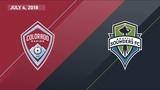HIGHLIGHTS Colorado Rapids vs. Seattle Sounders FC July 4, 2018