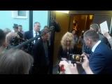 Алла Пугачёва после записи интервью с Олегом Меньшиковым (29.05.2018)
