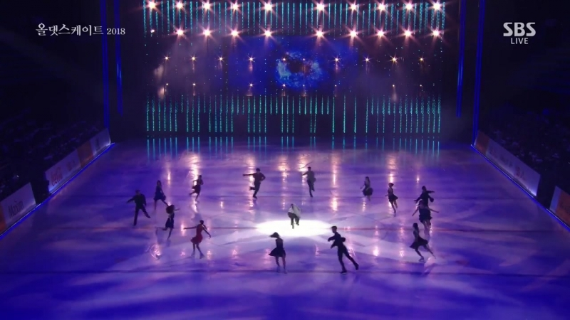 Finale Curtaincall - All Skaters - ExGala 26 - 2018-05-22 All That Skate 2018