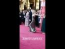 Jennifer Lawrence dancing at Oscars 2018
