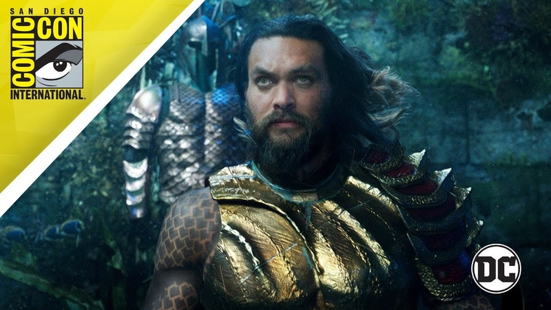 SDCC DAY 3: Aquaman and Shazam! Trailers, Heroes in Crisis, Death of Superman More