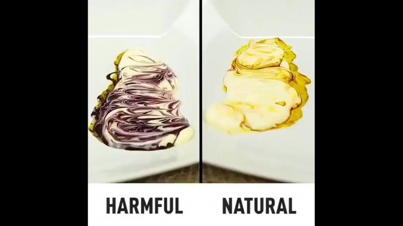 Натуральная и ненатуральная еда