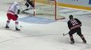Juha Metsola remarkable stick save on Alexei Mikhnov