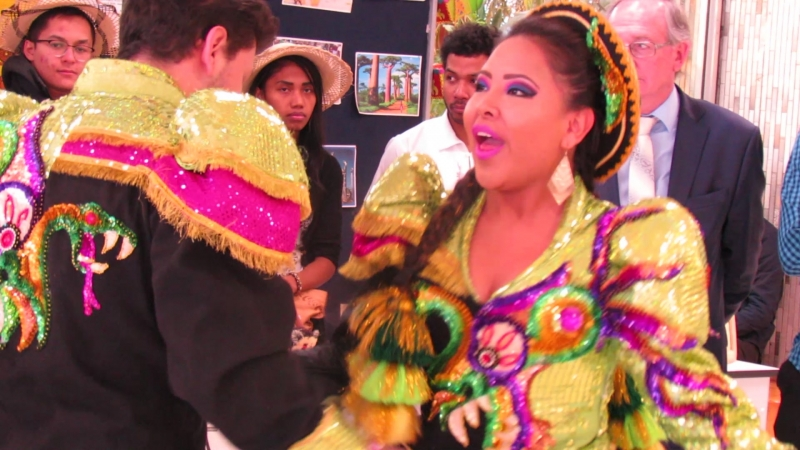 Exposicion estudiantil boliviana URAP