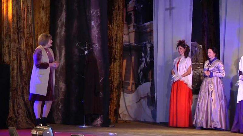СпектакльАнна Каренина с Ольгой Сумской в Марганце.