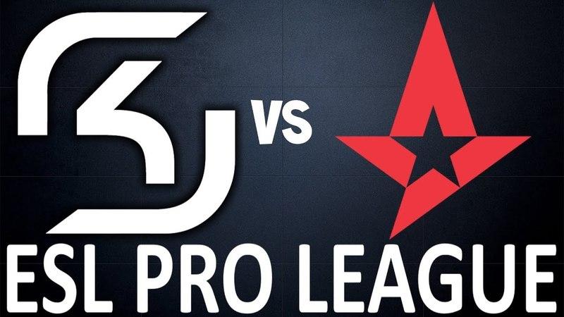 SK vs Astralis (Overpass/map2) Highlights - ESL Pro League Season 7 FINALS