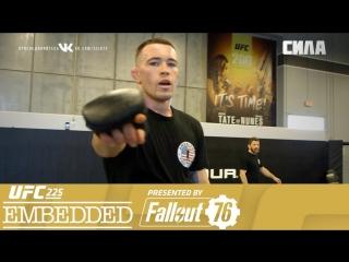 UFC 225 Embedded  Vlog Series - Episode 1