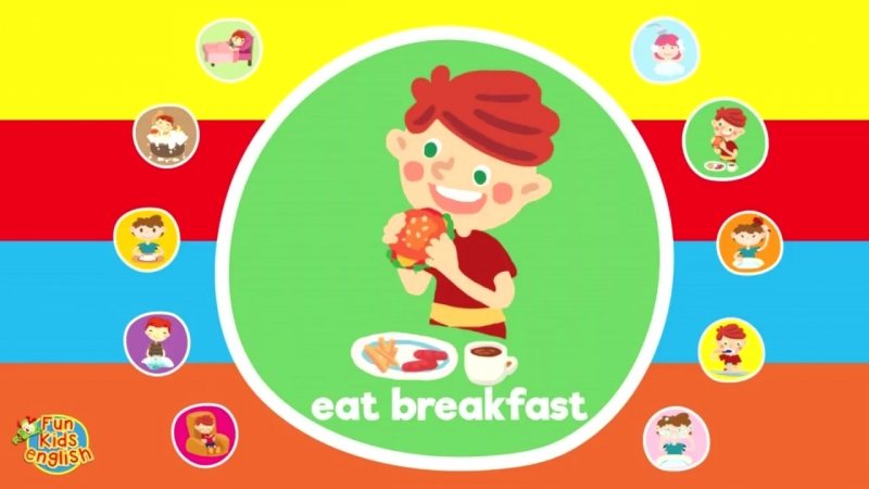 Learn Daily Activities - English Pattern Practice for ESL - ESL for Kids - Fun Kids English