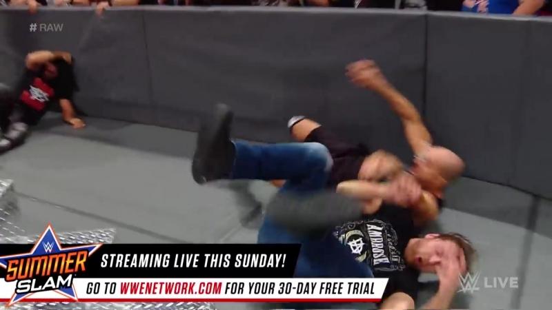 Seth Rollins and Dean Ambrose reunite_ Raw, Aug. 14, 2017
