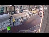 Покушение на убийство девушки в Санкт-Петербурге попало на камеру наблюдения
