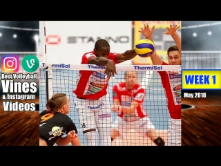 Best Volleyball Vines of May 2018. WEEK 1.
