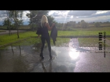DANA LABO boots my passion - leggings and high heels vs water walk