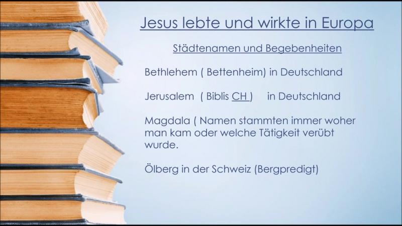 🏛 Was für eine Geschichte TEIL II (War Deutschland das heilige Land, nicht Jerusalem?Götterkriege,Asen und mehr)