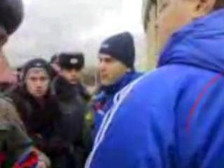 Акинфеев :иди сам встань на ворота пиздабол