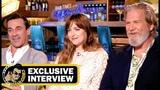 Jeff Bridges, Dakota Johnson &amp Jon Hamm BAD TIMES AT THE EL ROYALE Interview!