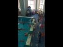 Первые соревнования по плаванию у Машуни