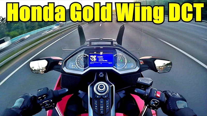 Honda GL 1800 Gold Wing Tour DCT. Обзор с места водителя. » Freewka.com - Смотреть онлайн в хорощем качестве