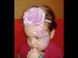 Внученька моя Полиночка танцует на Новогоднем утреннике!!!Моя красатулечка ненаглядная!