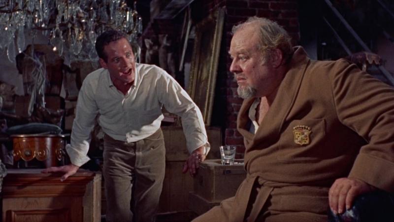 Откровенный диалог отца и сына - Кошка на раскаленной крыше (1958)