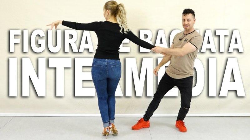 Figura Intermedia de BACHATA Como bailar bachata en pareja Aprende a bailar con Alfonso y Mónica смотреть онлайн без регистрации
