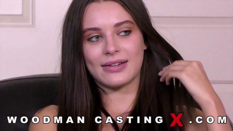 Lana Rhoades Woodman Casting interview first blowjob Part 8