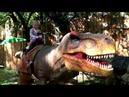 Парк Динозавров Страшные динозавры в ДиноПарке Scary Dinosaur Park dinosaurs Dinopark