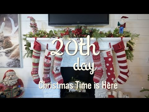 Christmas Decorating Home Tour 2017 | Christmas Time is Here | 20