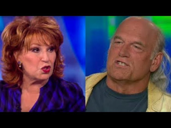 Jesse Ventura DESTROY Joyless Joy Behar In HEATED Argument