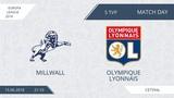 AFL18. Europa League. Group A. Day 5. Millwall - Olympique Lyonnais.