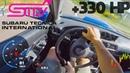 SUBARU IMPREZA WRX STI 2003 330hp Epic Road Racing RAW POV