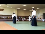 A Japanese dojo doing Jogi #1 and #2