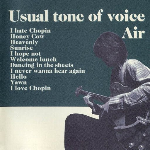 Air альбом Usual Tone of Voice