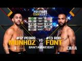 UFC Fight Night  Легчайший вес Педро Муньос — Роб Фонт