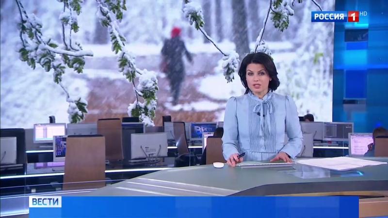 Вести Москва Как снег на голову первая метель принесла в столицу пробки и многочисленные аварии