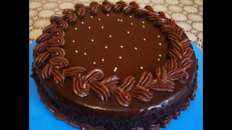 рецепт Торт ПРАГА шоколадный торт Рецепт шоколадного крема Рецепт ИДЕАЛЬНОЙ шоколадной глазури Cake