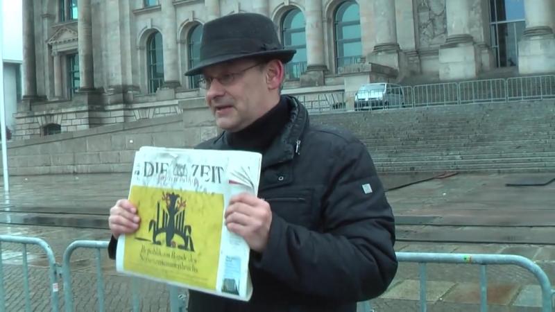 Die Zeit (Nerven)= Zusammenbruch der Privat - Republik Deutschland
