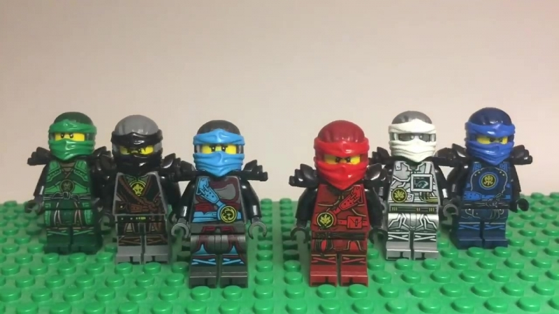 The Hands of Time - LEGO Ninjago Stop-Motion