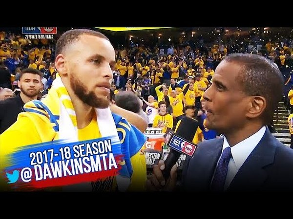 Stephen Curry Postgame Interview Game 3 Warriors vs Rockets 2018 WCF FreeDawkins