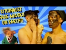 THE STRONGEST FACE MASK ON EARTH - GONE WRONG!!