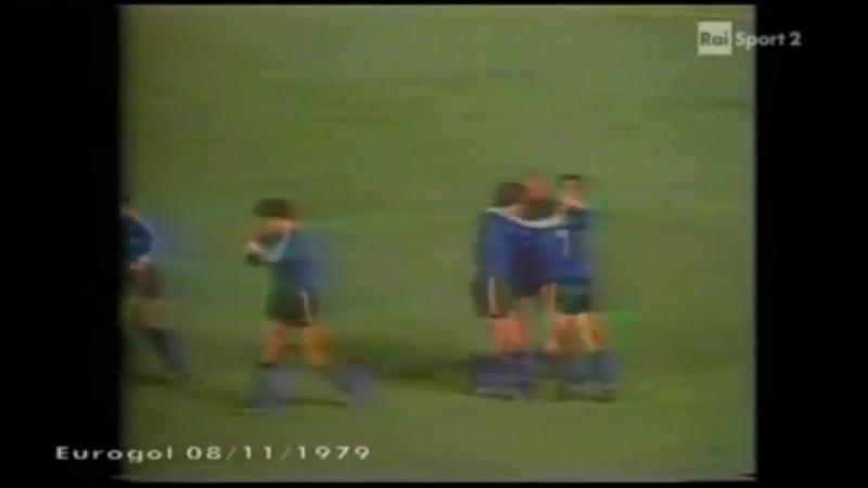 07.11.1979 КЕЧ 1/8 финала 2 матч Динамо (Тбилиси) - Гамбург (ФРГ) 2:3