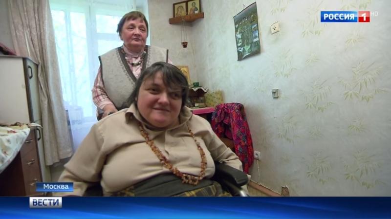Вести-Москва • Пенсионерка с дочерью-инвалидом три года не могут въехать в новую квартиру