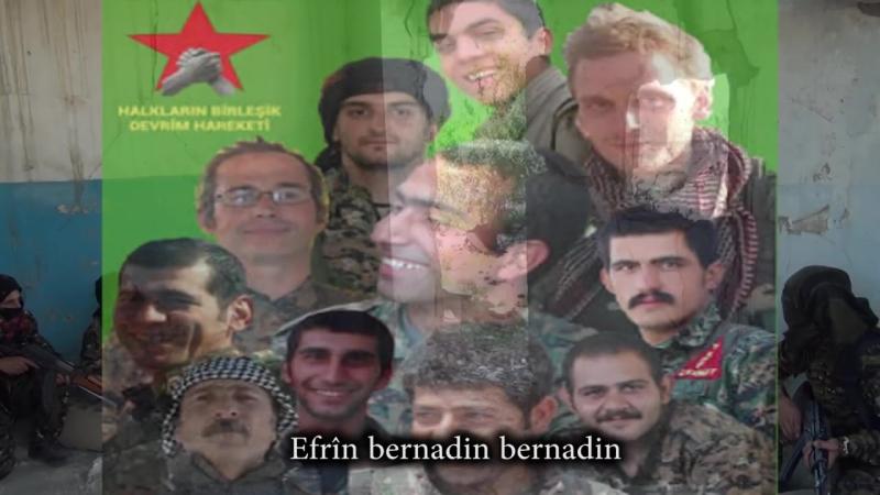 Berbanga Rojava- Efrîn Bernadin