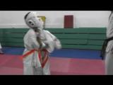 Девочки 11-12 лет Новикова Валерия(выйграла)-Захарова Полина. Полуфинал