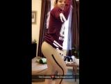 PANTYHOSE EXTASY #154 [ ножки, колготки, чулки, черные, капроновые, секси, попка, трусики, девушка, 2018, Full HD, фут, фетиш ]