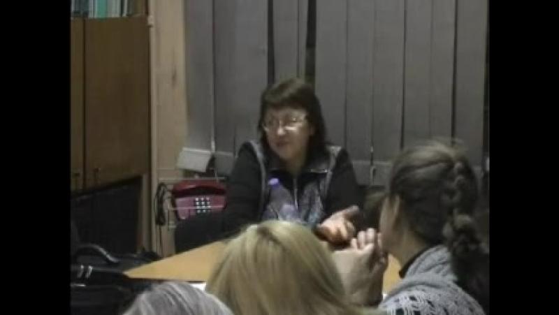 2012.02.14 ч2. Токарева Надежда Петровна. Для начинающих