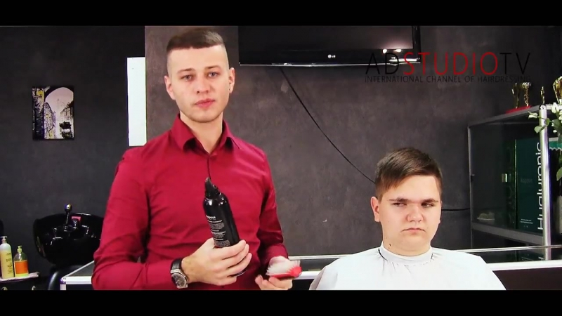 Мужская стрижка торчащих волос - Арсен Декусар _ AD studio TV