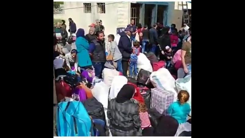 Environ 500 réfugiés syriens du Liban rentrent chez eux à Beit Jinnah