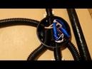 Сарай Часть 4 Схема подключения двухклавишного выключателя Протягиваю проводку в хоз постройке